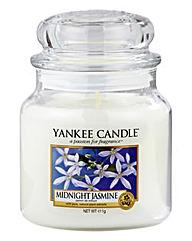 Yankee Candle Midnight Jasmine Medium