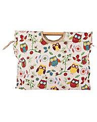 Owl Knitting Bag