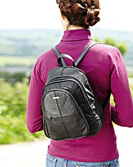 Organiser Back Pack in Nappa Leather