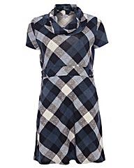 Praslin Check Print Dress