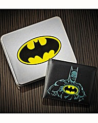 Batman Wallet In Gift Tin