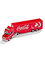 Die Cast Coca Cola Christmas Truck