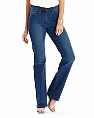 Simply Be 360 Fit Bootcut Jeans Reg