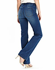 Simply Be 360 Fit Bootcut Jeans Short