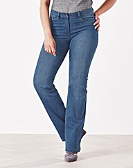 Simply Be 360° Fit Bootcut Jeans Reg