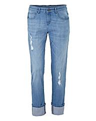 Simply Be Chelsea Boyfriend Jeans Reg