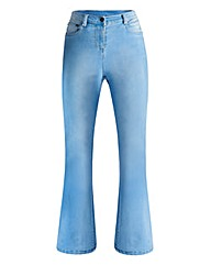Phoebe High Waist Kick Flare Jeans Long