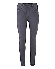 Lucy High Waist Skinny Jeans Short