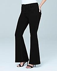 Phoebe High Waist Kick Flare Jeans Long