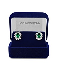 Jon Richard Green Cubic Zirconia Earring