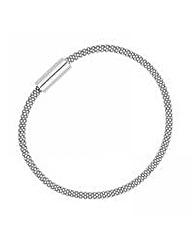 Simply Silver Mesh Magnetic bracelet