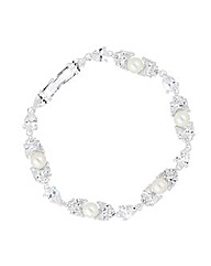 Alan Hannah Cubic Zirconia Bracelet