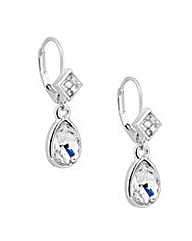 Jon Richard Crystal Teardrop Earring