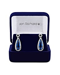 Jon Richard Cubic Zirconia Earring
