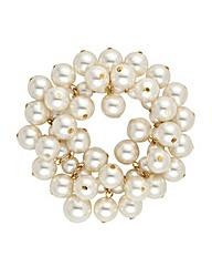 Jon Richard Pearl Cluster Bracelet