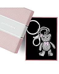 Jon Richard Teddy Bear Keyring