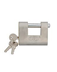 Shutter Padlock Brass 80mm