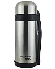 Yellowstone 1.5L Stainless Steel Flask