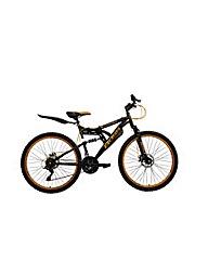 """Boss Blackgold Mens 26""""  Steel FS Bike"""