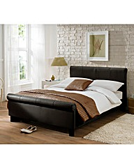 Logan Double Bed and Quilted Mattress