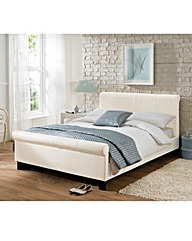 Logan Single Bed and Quilted Mattress