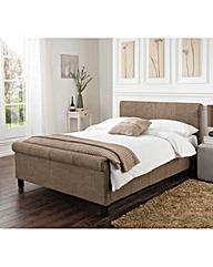 Logan Single Bed and Memory Mattress