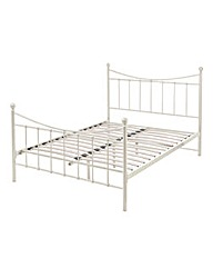 Lucy Double Metal Bedstead