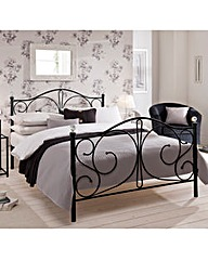 Gabriella Kingsize Metal Bedstead with M