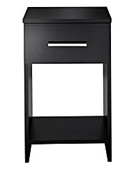 Florida Gloss 1-Drawer Bedside Table
