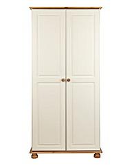 Stamford Pine 2 Door Wardrobe