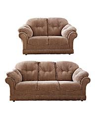 Suffolk 3 Seater Plus 2 Seater Sofas
