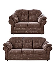Suffolk 3 Seater Plus 2 Seater Sofas
