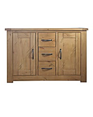Shropshire Rustic Pine Large Sideboard