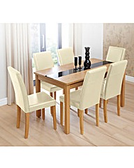 Ashford Table and Six Madison Chairs