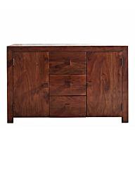 Java Solid Acacia Wood Large Sideboard