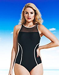 Simply Yours Mesh Classic Swimsuit