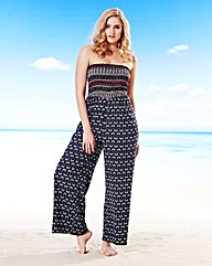Simply Yours Bandeau Jumpsuit