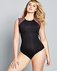 Simply Yours Mesh Detail Swimsuit