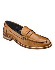 Black Label Penny Loafer Wide Fit