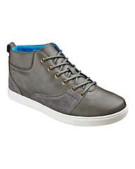 Jacamo Mid Lace-Up Casual Shoes Ex Wide