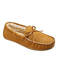 Southbay Suede Moccasin Slippers