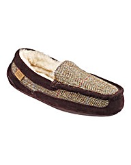 Just Sheepskin Harris Tweed Mocc Slipper