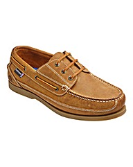 Chatham Rockwell Wide Fit Boat Shoe
