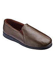 Padders Ben Leather Slippers