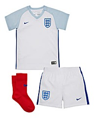 Nike Boys England Little Infant Home Kit