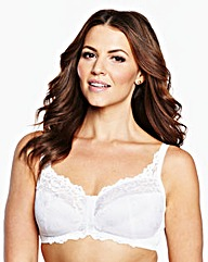 2Pack Non Wired Front Fastening Bras