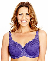 Shapely Figures Purple Ruby Full Cup Bra