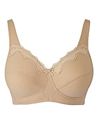 Non-Wired Full Cup Natural Sarah Bra