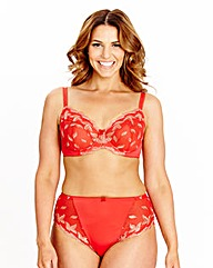Shapely Figures Red Ava Full Cup Bra