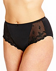 Shapely Figures Black Ava Knicker